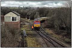 Tondu Visitor (Welsh Gold) Tags: 66230 66150 1z19 londdon paddington onnllwyn uk railtours excursion charter tondu garw loop bridgend southwales