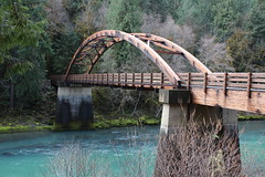 Tioga Bridge, as photogenic as always (rozoneill) Tags: north umpqua trail river swiftwater park bobs creek butte deadline falls oregon hiking national recreation forest idleyld roseburg glide