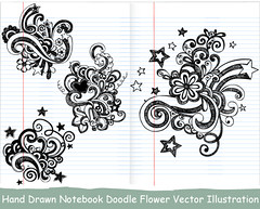 Hand Drawn Notebook Doodle Flower Vector Illustration (stockgraphicdesigns) Tags: art backtoschool background decorative doodle draw drawing floral flourishes flowers freehand handdrawn heart illustration linedpaper notebook notebookpaperbackground notepaper ornamental ornaments paper school scribble sketch sketchy stars stockvectorimages swirl