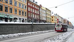 Hornsgatan in Stockholm Sweden 2/1 2011. (photoola) Tags: stockholm vinter winter bus hornsgatan sweden photoola