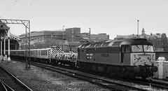 47793 St Augustne Preston R00141 D210bob (D210bob) Tags: 47793 preston r00141 d210bob saintaugustne railwayphotographs railwayphotography railwayphotos railwaysnaps monochrome monochromephotography blackwhitephotography blackwhite nikond100 class47 freighttrain ews nikon