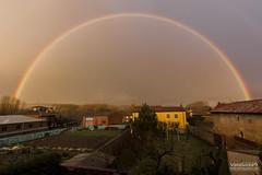 Arco iris al atardecer (Photo Valdueza) Tags: arcoirismarzo2018 camino arco arcoiris pillado por poco