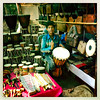 FPBD8042 (nagumbe) Tags: drums music instruments anjuna market goa india selling trade trader hipstamatic
