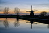 Gein, Abcoude (Julysha) Tags: spring march 2017 thenetherlands d810 sigma241054art acr gein mill dusk reflection river molen trees sunset evening abcoude