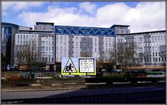 LEGO-like (* RICHARD M (7.5 MILLION VIEWS)) Tags: lego legolike legolikearchitecture modernarchitecture architecture bristol northsomerset somerset england greatbritain britain unitedkingdom uk britishisles street signs streetsigns streetfurniture lightandshade shadows buildings modernbuildings urban windows littleboxes townplanning aesthetics modernism modernistarchitecture southgloucestershire bland