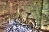 Old school (urban requiem) Tags: velo vélo bike bicyclette rusty rust rouille urbex urban exploration urbanexploration urbanrequiem abandonné abandoned abbandonato lost old decay derelict hdr 600d 816 sigma verlaten verlassen italia italy italie chateau schloss castle castello del artista castellodelartista