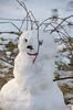 Bad Hair Day DSN_1728 (iloleo) Tags: snowman winter nikond7000 taylorcreekpark toronto snow fun