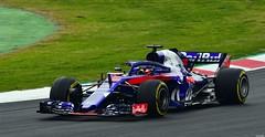 Toro Rosso STR13 / Brendon Hartley / Red Bull Toro Rosso Honda (Renzopaso) Tags: formula one test days 2018 circuit de barcelona toro rosso str13 brendon hartley red bull honda tororossostr13 brendonhartley redbulltororossohonda