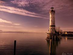 Lindau Lighthouse (einaz80) Tags: lindau lighthouse leuchtturm faro bodensee constance lake lago costanza sunset tramonto twilight sundown