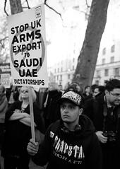 Stop UK Arms Exports to Saudi UAE dictatorships (alisdare1) Tags: mohammadbinsalman binsalman saudiarabia armsexports theresamay downingstreet london protest demo demonstration rally warcrimes yemenwar handsoffyemen armssales saudiwar butcherofyemen saudiprince uk ksa saudi dictatorship whitehall stoparmingsaudiarabia humanrights humanitariancrisis yemenfamine saudibombing bombingofyemen crownprince fujifilm fuji fujifilmxpro2 notwelcome no10 primeminister unitedkingdom creativecommons mbs