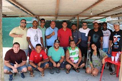 Amigo Flavio Pato muito obrigado a você e todo o seu grupo pelo apoio na nossa caminhada de hoje, em Curicica, Jacarepaguá, na zona oeste da cidade.