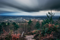 Rainy Leith Hill (ed027) Tags: ifttt 500px horizon over land landscape fog sunrise hill dramatic sky moody overcast mountain range sunset mood orton long exposure orange green steps stairs climb view from above blur focus winter spring rain storm stormy weather