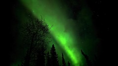 Skyburst Through the Clouds (Katy on the Tundra) Tags: northernlights auroraborealis timelapse