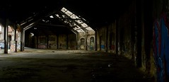Huge graph place (samichidiac) Tags: hugeplace graph light urbex