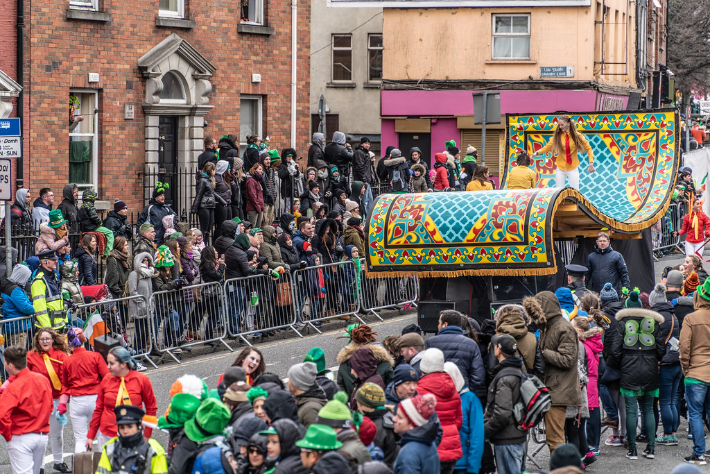 ARTASTIC - TICK TOCK OF THE FAMILY CLOCK [DUBLIN PARADE 17 MARCH 2018]-137708