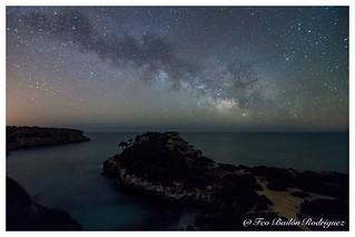 Vía Láctea en el Calo des Moro