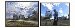 CARDONA-PINTURA-COOPERATIVA-GRUSVIP-PAISATGES-CATALUNYA-CARRETERA-VALL D'ORA-CEL-PRIMAVERA-NÚVOLS-FOTOS-PINTANT-QUADRES-PINTOR-ERNEST DESCALS (Ernest Descals) Tags: cardona pintura pintures pinturas cuadros cuadro quadres cooperativa silos grusvip carretera valldora paisatge paisatges paisaje paisajes primavera spring nubes cielo cel núvols pintando pintant barcelona catalunya cataluña catalonia llocs lugares primaverales art arte artwork painter painters paint pictures painting paintings pintor pintors pintores artistes artistas impresionistas paisajistas plastica fotos ernestdescals artist artista catalans catalanes inspiracion solsonés comarca comarques