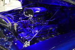 1955 Ford F100 (bballchico) Tags: 1955 ford f100 pickuptruck custom halloffame portlandroadstershow carshow johnrydzewski tracierydzewski engine