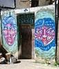 Goos Flesh, Blackpool, UK (Robby Virus) Tags: blackpool england uk unitedkingdom britain greatbritain goos goose flesh street art door doorway alley