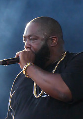 RTJ's Killer Mike (peterkelly) Tags: digital panasonic lumix zs50 canada northamerica festival concert music musician singer microphone mic mike parcjeandrapeau montreal quebec 2017 osheaga osheagamusicartsfestival necklace gold beard rtj runthejewels killermike singing rapper rapping bracelet
