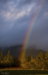 Rainbow's End (Patrick Dirden) Tags: storm winter rainbow clouds light shadow sunlight mountain mountsainthelena mountsthelena mayacamamountains knightsvalley sonomacounty northbay bayarea northcoast northerncalifornia