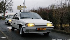 Citroën BX 19 TRD automatic 1986 (XBXG) Tags: 14srp4 citroën bx 19 trd automatic 1986 citroënbx diesel bva automatique 31ème salon champenois du véhicule de collection belles champenoises 2018 époque reims marne 51 grand est grandest champagne ardennes france frankrijk vintage old classic french car auto automobile voiture ancienne française vehicle outdoor