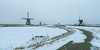 winter in Kinderdijk (Just me, Aline) Tags: 201803 alinevanweert holland kinderdijk nederland netherlands cold freezing koud mill mills molen molens sneeuw snow winter explore