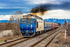 GM 1219 - Sibiu (Desiro256) Tags: cfr trenuri trains gm emd egm electro motive diesel general motors usa la grange illinois motor 8710g3 lde2100 locomotiva electrica electroputere craiova romania modernizare 92 53 6412196 6512198 uic led r2565 medias depou sibiu hc gara statie halta de miscare linie judet transilvania magistrala 200 linia secundara 208 rosntfc vagon demaraj zapada primavara fum