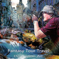 Fantasy Tour Travel  Decoration Art  この旅は驚きです!街の道路にトリックアートの渓谷が現れた風景を、編集加工しました。 (nodasanta) Tags: instagramapp square squareformat iphoneography uploaded:by=instagram ludwig