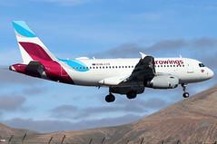 OE-LYZ (GH@BHD) Tags: oelyz airbus a319 a319100 ew ewg eurowings ace gcrr arrecifeairport arrecife lanzarote airliner aircraft aviation
