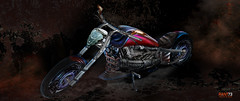 TIDAR (surRANTo dwisaputra) Tags: tidar motorcyle black dark engine ride flicker flickr motor wallpaper rant73 suranto surantodwisaputra photoshoper