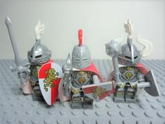 """Guild: Knight's Valor (Nick """"Nightstalker"""") Tags: afol lego brickforge brickarms"""
