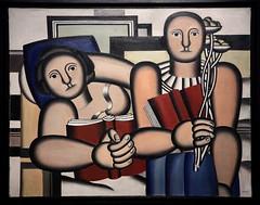 """""""La lecture"""" 1924 Fernand Léger Exposition Fernand Léger (1881-1955) """"Beauty is Everywhere"""" """"La Beauté est partout"""", Bozar, Bruxelles, Belgium (claude lina) Tags: claudelina belgium belgique belgïe bruxelles brussel exposition fernandléger bozar muséedesbeauxartsdebruxelles oeuvre peinture painting labeautéestpartout beautyiseverywhere lalecture"""