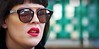 Beauty is in the Eye of the Beholder (ihughes22) Tags: chinatown liverpool ihughes22 nikon reflection liverpoolecho chinesenewyear woman lady girl glasses candid streetphotography redlipstick