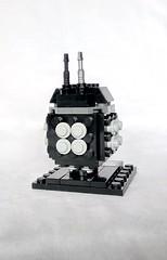 BB-9E (instructions available) (tomvanhaelen) Tags: lego star wars custom brickheadz moc bb9e first order