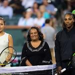 Zarina Diyas, Serena Williams