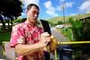 Diamond Head Coconut (decineper) Tags: hawaii coconut milk cleaver