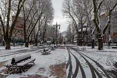 El Parque (titodixebra) Tags: langreo llangréu llangreu nevada nieve nevao neváu felguera lafelguera asturies asturias