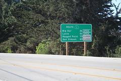 IMG_7803 (mudsharkalex) Tags: california carmel carmelca carmelbythesea carmelbytheseaca hwy1 highway1 ca1 sign signs roadsign roadsigns milesto milestosign