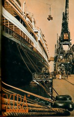 extra, uitgave jamin, 1936 cover  24 mei haven (janwillemsen) Tags: magazineillustration 1836 extra port ships magazinecover