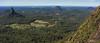 Glasshouse Mountains (NettyA) Tags: 2017 australia glasshousemountains mtbeerwah qld queensland scbwc sunshinecoast bushwalk bushwalking geology panorama rock sandstone seqld