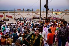 Varanasi (Benares) - Dashashwamedh Ghat - Ganga Seva Nidhi (Robert GLOD (Bob)) Tags: ghats architecture building construction ganga ganges ghat group groups hindu hinduism religion religious river spiritual spirituality staircase stairs stairway steps unesco varanasi uttarpradesh benares in ind india streetphotography
