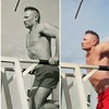 dips (ddman_70) Tags: shirtless muscle pecs chest triceps dips gym outdoor workout