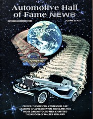 1986 Clenet Cabriolet Series II (aldenjewell) Tags: 1986 clenet cabriolet series ii magazine cover automotive hall fame news