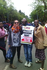 Zimbabwe tells Robert Mugabe to go! Solidarity March, 18 Nov 2017 (Zimbabwean-eyes) Tags: zimbabwe politics mugabe coup harare demo solidarity march