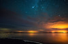 Milky way above the clouds (free3yourmind) Tags: milky way above clouds cloudy night lake stars starry lights braslaw braslav belarus water blac hole