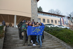 IFSA Winter Meeting 2018 (lifegenmon) Tags: ifsa lifegenmon life climatepath2050 dinalpbear lynx slovenianforestryinstitute forest slovenia forestry students 3lynx