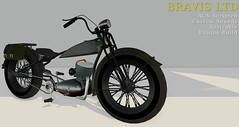 vintage 1925 ww1 (Bravis Ltd) Tags: bike bikes motorcycle bravis rock track race racing car motor vehicle trike chopper low rod garage mechanic custom unique ferrari bmw triumph lambretta drag hot second life secondlife sl wheel gay sexy rupaul sport army