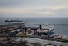 Domenica grigia (HarpoGenuzio) Tags: nave vedute orizzonte orizzonti see grey mare nuvole grigio trieste