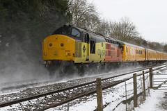 880 37116 + 37254 3Z01 Colas-NR PHH_7613 (paulhunterhiggins377) Tags: englishelectric diesel dieselelectric derbyrtc testtrain networkrail claydon class37 colas colasrailfreight br britishrail 37116 37254 d6954 d6816